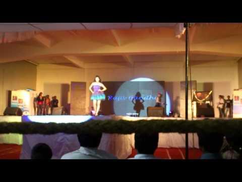 Rajiv Gandhi College  Fashion Show At Cmrit Cultura 2012