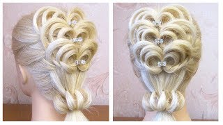 Coiffure pour les ftes facile  Easy prom hairstyle for long medium hair