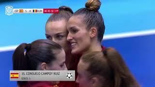 La Selección femenina de fútbol sala golea a Rumanía (12-1)