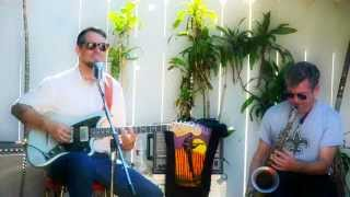 "Eric Lindell ""Aretha Sing one For Me""  Venice Beach House Party 9 22 13"