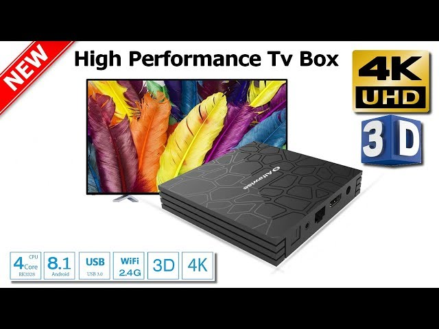 Android 8 1 TV Box, Superpow Smart TV Box Quad Core 2GB RAM+16GB ROM
