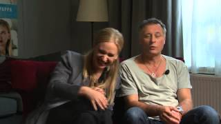 Vera Vitali & Michael Nyqvist - Intervju inför Min så kallade pappa