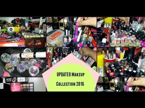 My Makeup Collection & Storage  2016 |Indian BeautyBlogger|Beauty Infinite