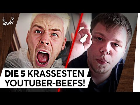 Die 5 KRASSESTEN YouTuber-Beefs! | TOP 5