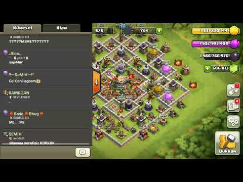 Clash Of Clans Da Level Atlama Kodu (APK DAYI COC)