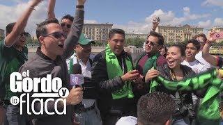Baixar Fiebre mundialista: Carlos Calderón se llevó a unos mexicanos de tour por el río de Moscú | GYF