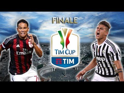 Milan vs Juventus | Finale Tim Cup 2016 | Finale Coppa Italia