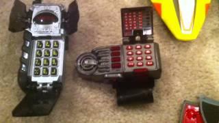 Мої Могутні рейнджери колекції іграшок з 1993-2011 (Частина 1 з 3)