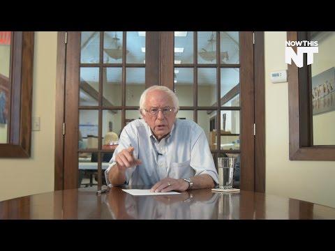 Bernie Sanders Explains Why You Shouldn
