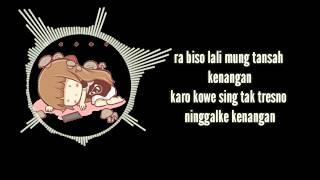 "Video Lirik Animasi Kece Abis lagu "" Kowe lan Kenangan "" - Intan Rahma cover by Didik budi wantoro"