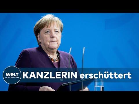 BLUTTAT IN HANAU: Kanzlerin Merkel -  Rassismus ist ein Gift in der Gesellschaft