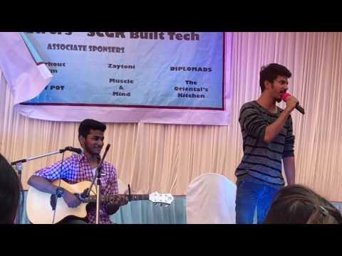 Hamdard (Arijit Singh) And Tu Jaane Na (Atif Aslam) - Live Performance