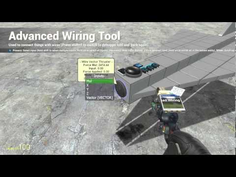 How to make a RC plane in Gmod using WireMod