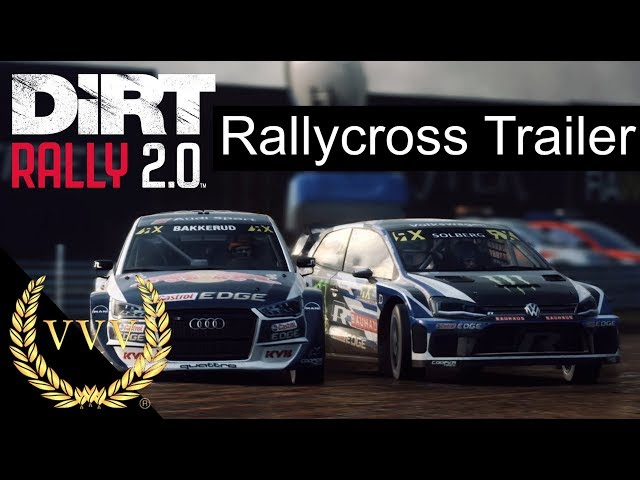 Dirt Rally 2 0 Rallycross trailer