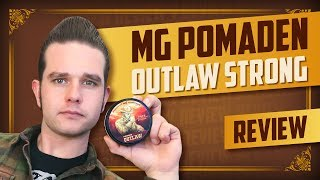 Wanted! | MG Pomaden Outlaw Strong Pomade Review | english subtitles