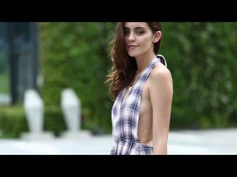 SammyDress Beach Style - Cute Halter Backless Mini Dress