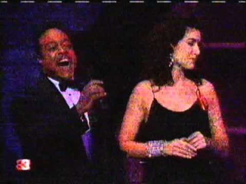 Oscar 1992 - Angela Lansbury, Céline Dion & Peabo Bryson in Beauty and The Beast