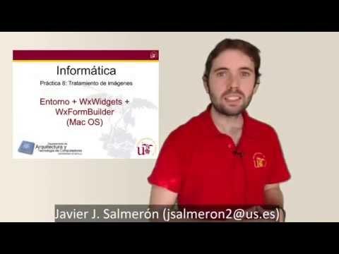 P08.04.3 - Instalación de Práctica 8 + WxWidgets + WxFormBuillder (Mac OS)