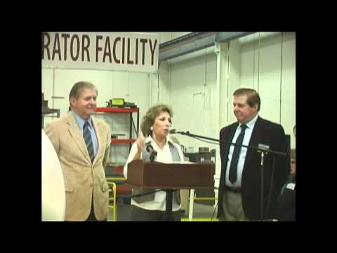 Supervisor Josie Gonzales Speaking at Brithinee Electric in Colton, CA