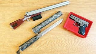 Alte Feuerzeug und Messer Sammlung in einer antiken Luxus Villa gefunden!