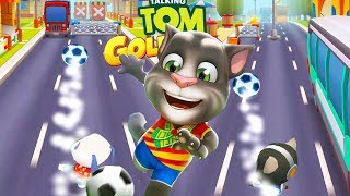 Talking Tom Gold Run Gameplay - Soccer Update Hank Run  | Android Games | Friction games