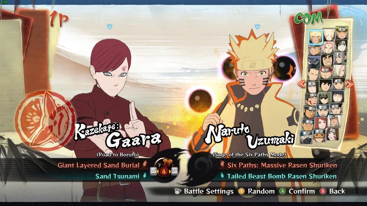 Naruto Shippuden: Ultimate Ninja Storm 4 - Kazekage: Gaara ...