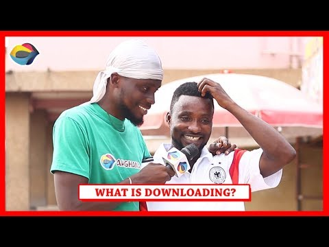 What Is DOWNLOADING? | Street Quiz | Funny African Videos | Funny Videos | African Comedy