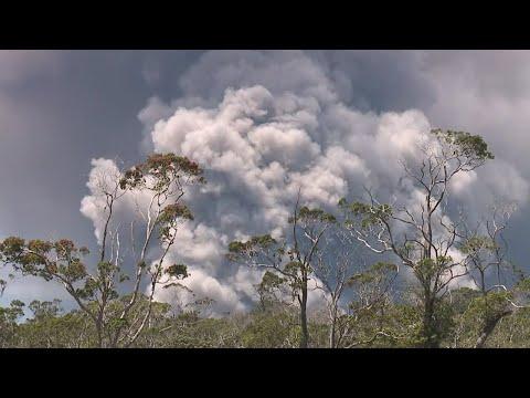 Plume at Halemaumau Crater prompts ashfall warning