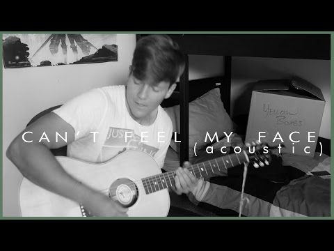 The Weeknd - I Can't Feel My Face (Music Video Cover) - Tyler Ward LIVE Acoustic Remix