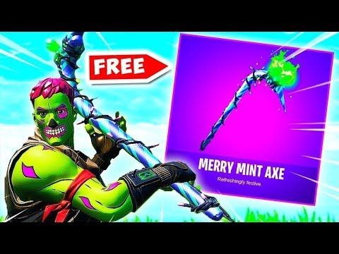 Fortnite Marry Mint Axe Gameplay
