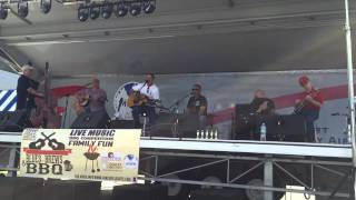 Restless spirit band playing restless spirits at the Hinesville blues festival