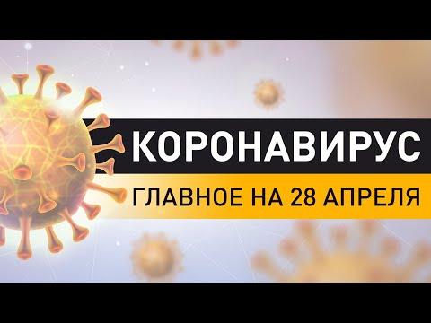 Коронавирус. Ситуация в Беларуси на 28 апреля. Последние данные по COVID-19