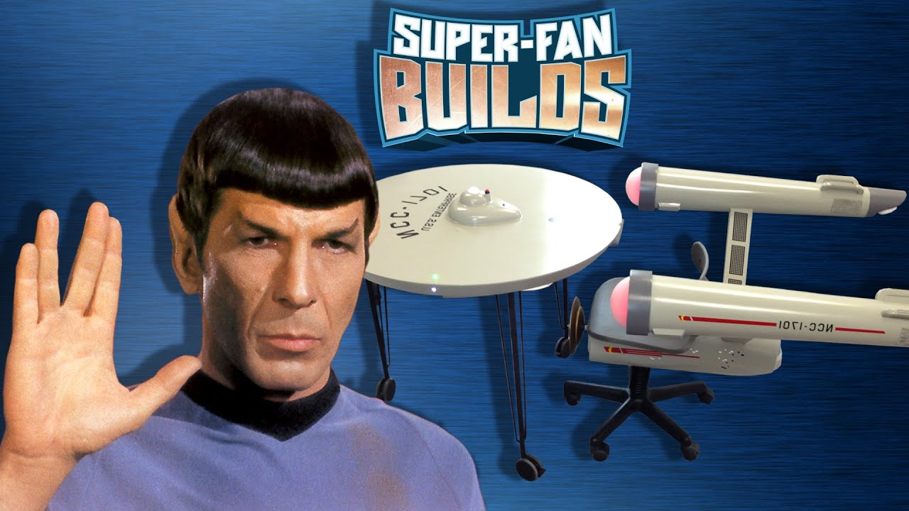 Star Trek Enterprise Home Office   SUPER FAN BUILDS   YouTube