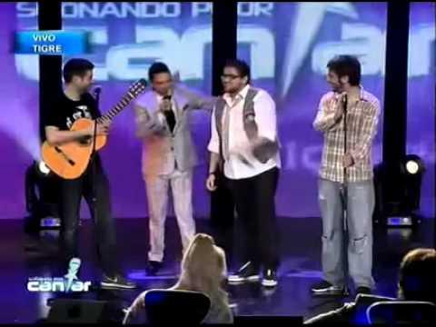 Berny Cordero y Esa en Soando por Cantar