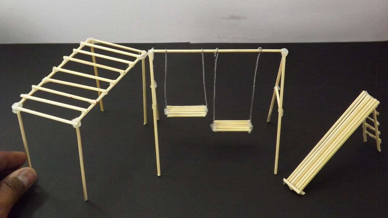 3 Easy Bamboo Sticks Playground Toys Crafts For Kids