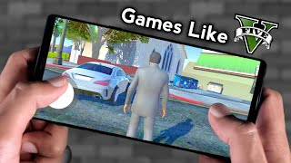 Top 10 Android Games Like Gta 5 2019 |  Download Link