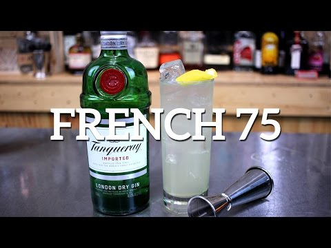 French 75 Gin Cocktail Recipe