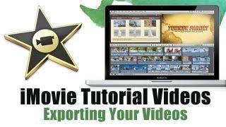 How to Export video in iMovie 11 - iMovie Tutorial Videos