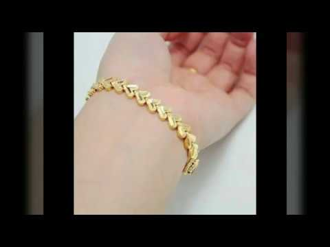 7981190ceb0 Latest golden bracelets for women 2019 !!! Top ideas for gold ...