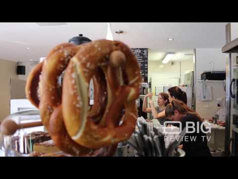 Brezel Bar, a German Bakery and Cafe in Sydney serving Brezel, Cakes, and Coffee