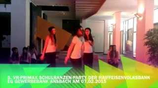 Tanzschule SK-Danceworld - Gewerbebank-Ansbach am 07.02.2015 - Gruppe STEP 1
