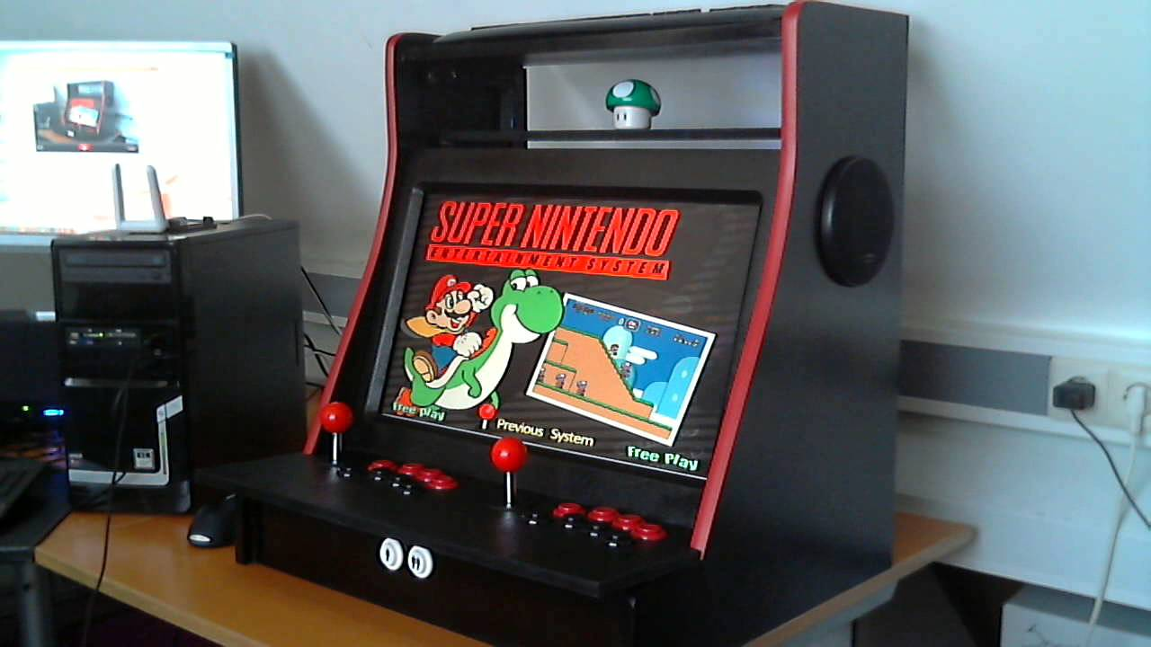 Tabletop Arcade Machine Wip Youtube