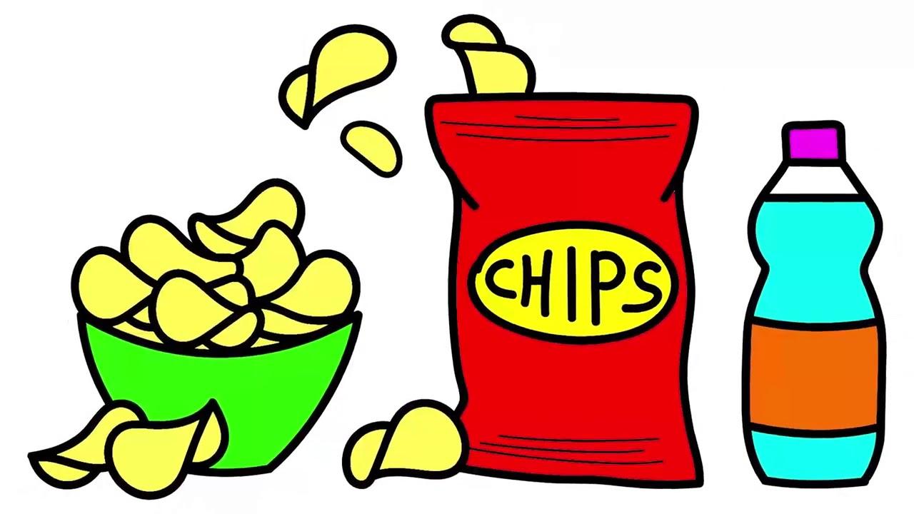 картинки чипсы нарисовать соревнования