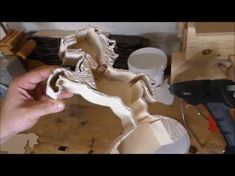 Pferd Münzspardose Teil 3 - Der Münze Rausfallschutz Mechanismus