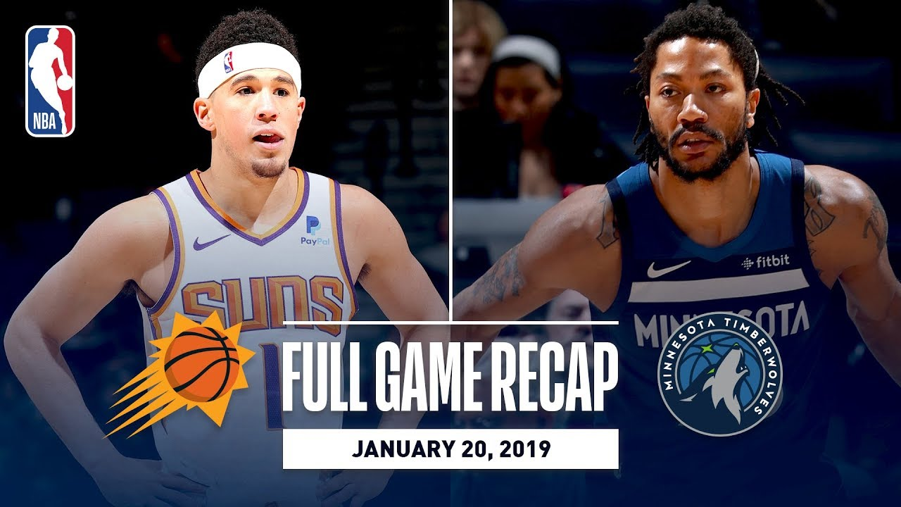 Full Game Recap: Suns vs Timberwolves | Derrick Rose Has BIG 2nd Half