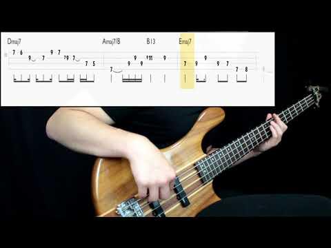 Stevie Wonder - Do I Do (Bass Cover) (Play Along Tabs In Video)