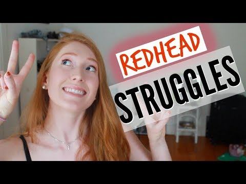 Dating redheads for dummies