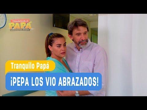 Tranquilo Papá - ¡Pepa los vio abrazados! - Domingo y Pamela / Capítulo 4