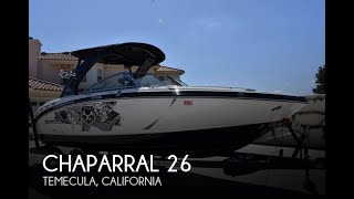 [SOLD] Used 2012 Chaparral 264 Xtreme in Temecula, California