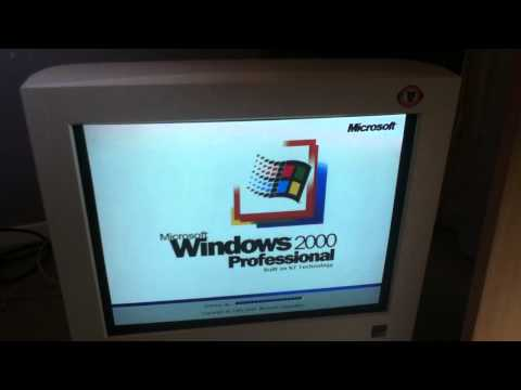 Windows 2000 startup